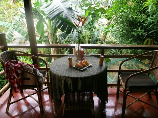 Treetops: Private Balcony