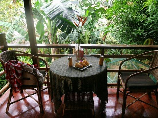 Treetops: Private Balcony