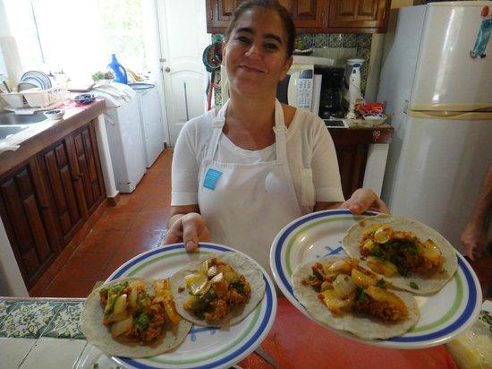Food Motion Cooking Workshops:                   Tacos al pastor style