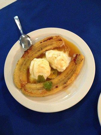 El Marquez: Banana flambe