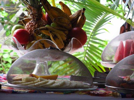 Hotel Pousada Natureza:                   algo de lo que hay para desayunar