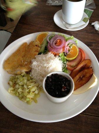 Restaurante Tico y Rico Monteverde: Fish casado
