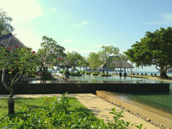 Tanjung Rhu Resort:                   プール