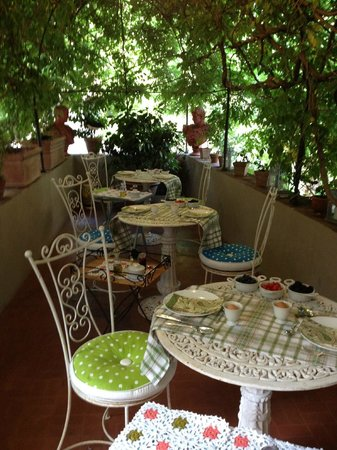 Locanda Sant'Agostino Maison de Charme:                   The prettiest eating spot in Italy?
