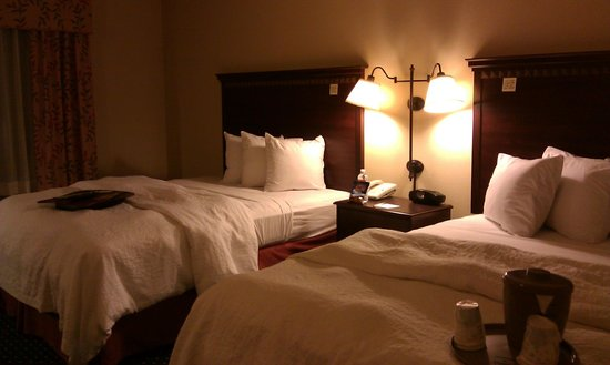 Hampton Inn Los Angeles / Orange County / Cypress: Bed