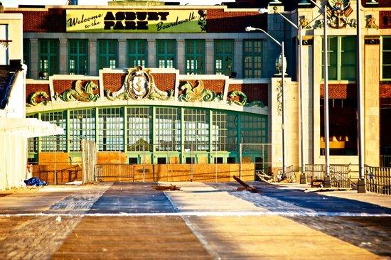 Asbury Park Boardwalk - majestic