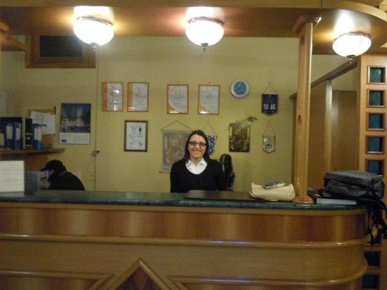 Hotel Amleto:                   The always friendly staff