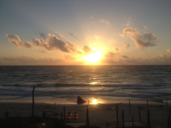 Suenos Tulum:                   sunrise