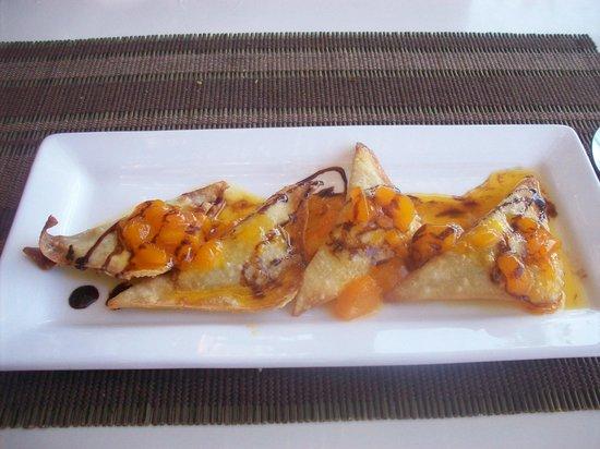 Marina Fiesta Resort & Spa :                   desert from the sushi place... yum!