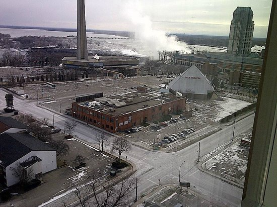DoubleTree Fallsview Resort & Spa by Hilton - Niagara Falls:                   Imax Theatre - and the Mist of the Canadian falls