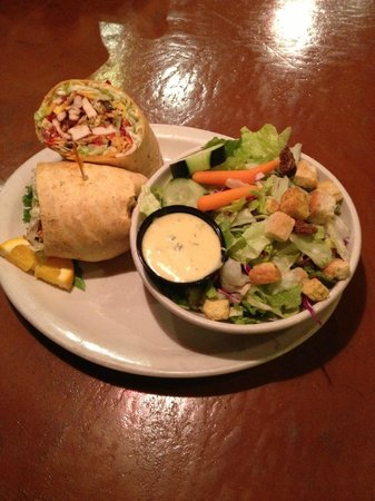 Bob's Burgers & Brew: The Crunchy BBQ Wrap has been a favorite since it debuted on our menu a few years ago!