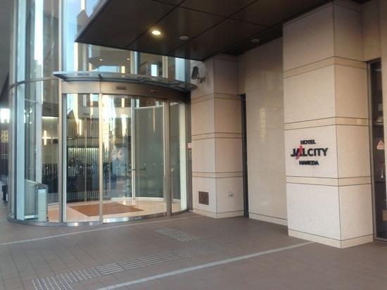 โรงแรมแจล ซิตี้ ฮาเนดะ โตเกียว:                   エントランス