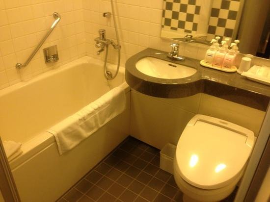 Hotel JAL City Haneda Tokyo:                   バスルーム
