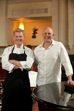 Logan Brown : Hosts Chef partner Shaun Clouston and Steve Logan