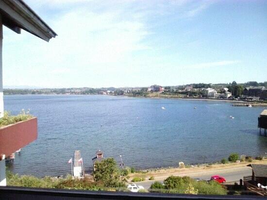 Cabaña del Lago Hotel:                   vista