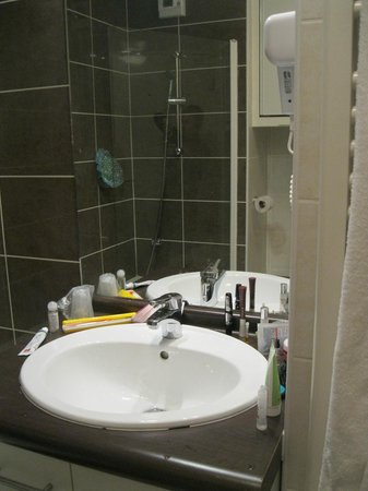 Appart'Hotel Bioparc: The bathroom