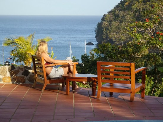 Marigot Palms Luxury Caribbean Guesthouse and Apartments:                   You have to be here to appreciate the beauty of the harbour.