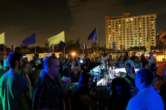 Sandbar :                   Rooftop Party
