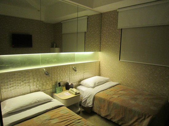 Silka Seaview Hotel:                   兩張單人床