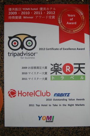YoMi Hotel: When did TA become official rating agency like AAA or Mobil :D?