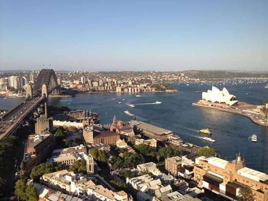 Shangri-La Hotel Sydney: View from 33rd floor