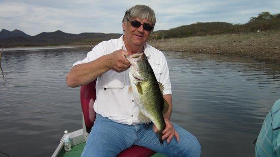 Mazatlan Tours:                                     Dad with Bass