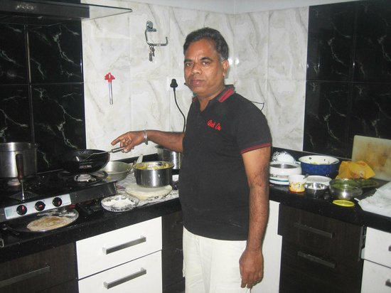 BLESSINGS Bed and Breakfast :                   Maharaj in the Kitchen
