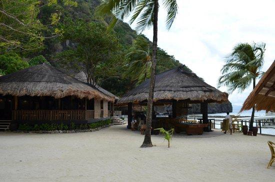 El Nido Resorts Miniloc Island :                   Beach bar