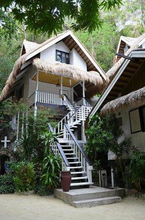 El Nido Resorts Miniloc Island:                   Cliff cottage