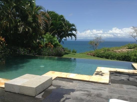 AYANA Resort and Spa:                   view from the pool of our villa