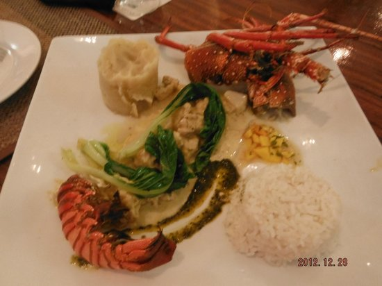 Erakor Island Resort & Spa:                   Lobster