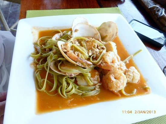 Erakor Island Resort & Spa:                   Seafood