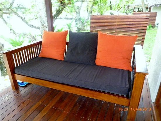 Erakor Island Resort & Spa:                   Day bed