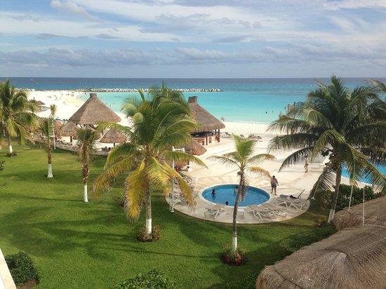 Krystal Cancun:                   From balcony