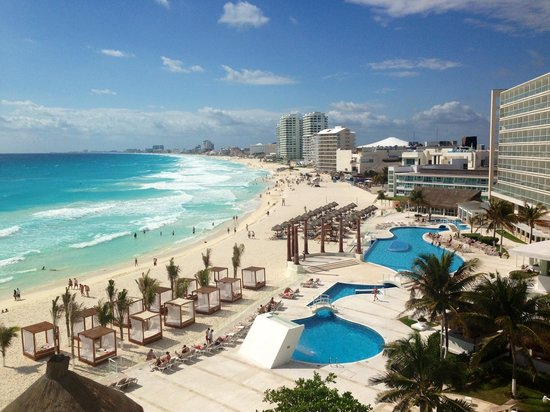 Krystal Cancun:                   View
