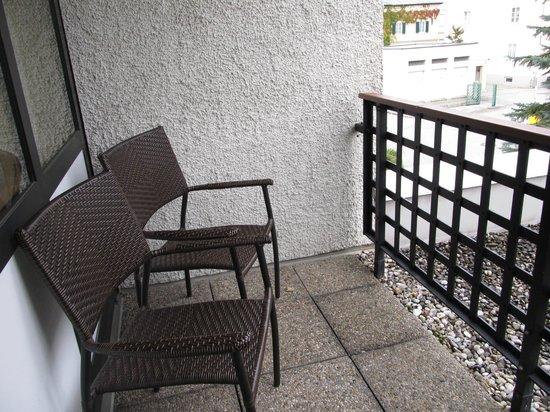 Parkhotel Brunauer: balcony
