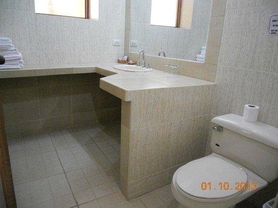 Hotel Samanapaq: Bathroom is very clean and big