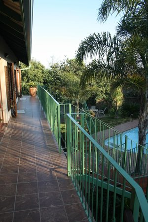 Claires of Sandton:                   Balcony entrance