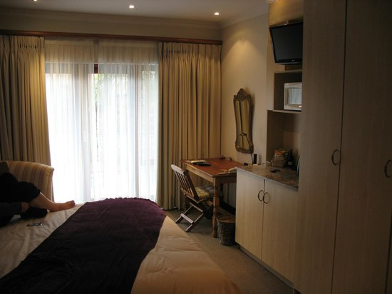 Claires of Sandton:                   Inside our comfy room