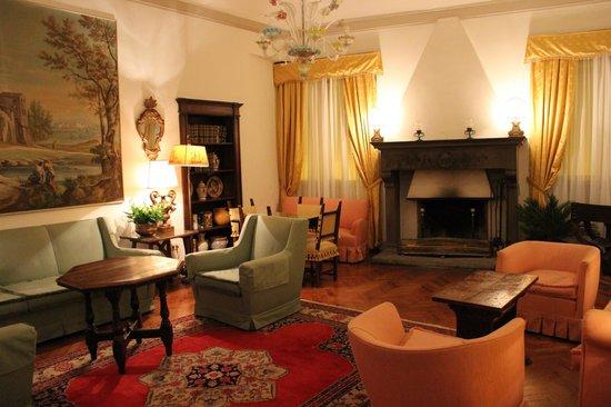 Hotel Tornabuoni Beacci:                   自由にくつろげる場所