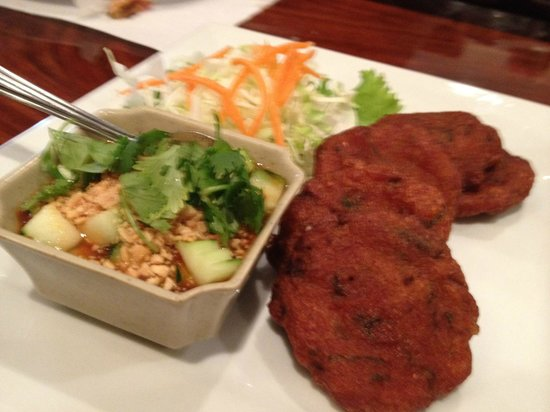 Lotus of Siam:                   Thai fish cakes