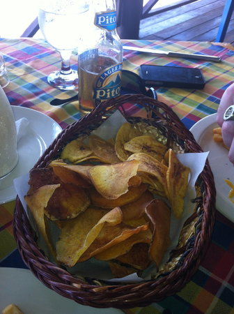 Ti Kaye Resort & Spa:                   Awesome local chips!!!!