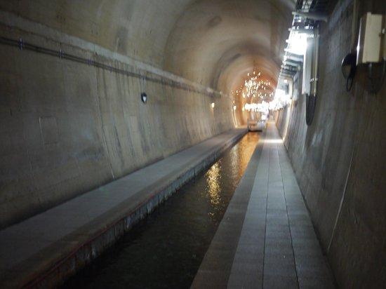 Takamori Yusui Tunnel Park :                   トンネルの水路