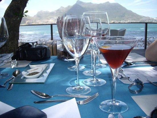 Tintswalo Atlantic:                   A beautiful restaurant, stunning outlook