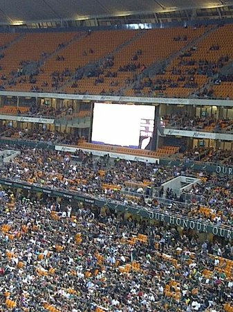 FNB Stadium:                   South Africa vs New Zealand Rugby Match