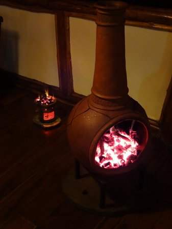 Buhoma Lodge : Heaters put out every night with dinner