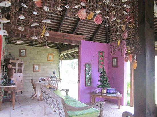 Villa Mitirapa:                   salle à manger