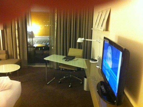 โรงแรมฮิลตัน โคเปนเฮเกน แอร์พอร์ท:                   Executive Lounge på 12 sal
