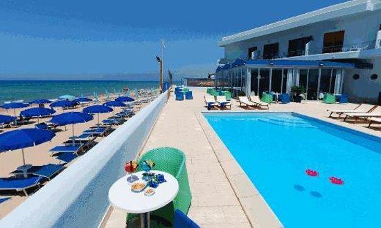 Hotel La Battigia: Terrazza sul mare