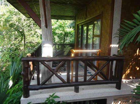 Somkiet Buri Resort:                   Balkon